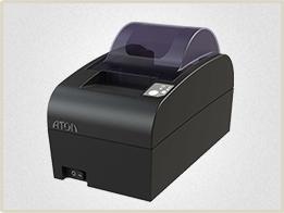 Упрощенная модификация АТОЛ 55Ф. Данный фискальный регистратор рассчитан на предприятия со средним или низким потоком клиентов.
