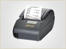 Фискальный регистратор АТОЛ 30Ф - самая бюджетная и простая модель. ФР рассчитан на небольшой поток клиентов.