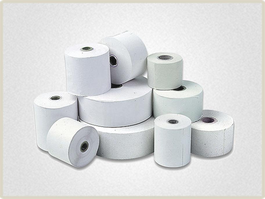 В нашей компании можно купить чековую ленту различной длины и ширины