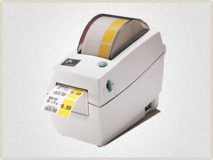 Печать штрих кодов на термоэтикетках выполняется принтерами штрих кодов. Это необходимо для маркировки товаров у которых поврежден или отсутствует заводской штрих код
