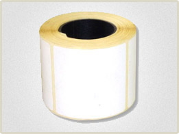 Термоэтикетка формата 58х60 мм с намоткой 450 наклеек в ролике