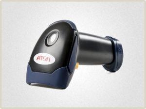 Сканер штрих кода Сканер штрих кода АТОЛ SB 1101/1101 Plus - самый простой и бюджетный вариант для предприятий с небольшим и средним потоком клиентов.