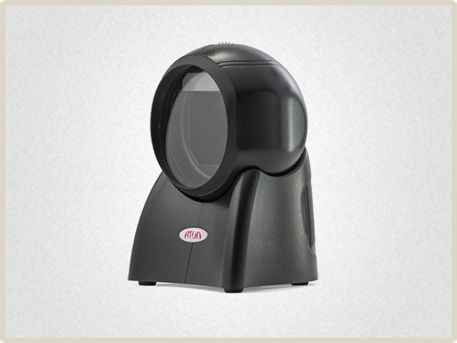 Небольшой вес стационарного сканера штрих кода позволит при необходимости работать с ним в ручном режиме.