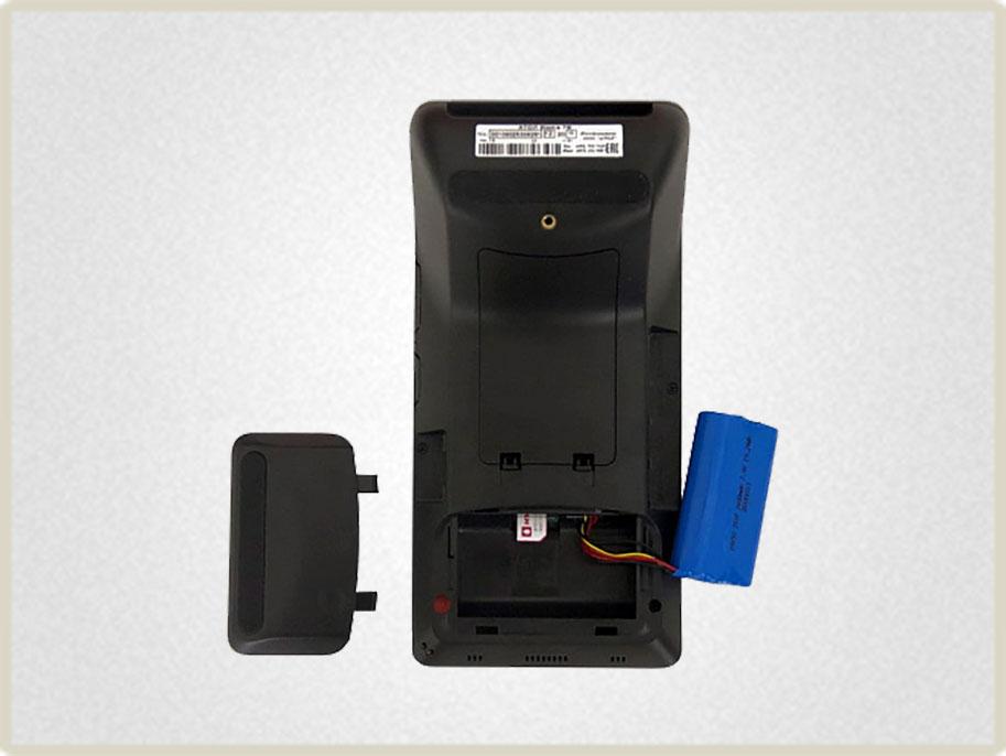 Смарт-терминал АТОЛ sigma 7 подходит для выездной торговли: его питание осуществляется от аккумулятора.