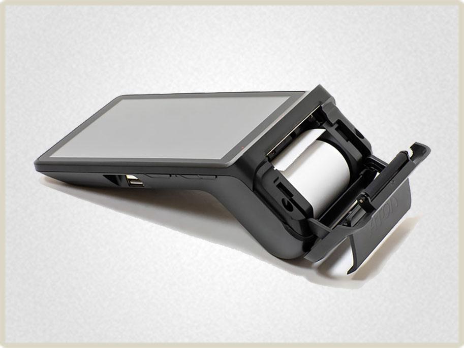 Модуль печати смарт терминала АТОЛ sigma 7 обладает ресурсом приблизительно на 500 тыс. чеков.