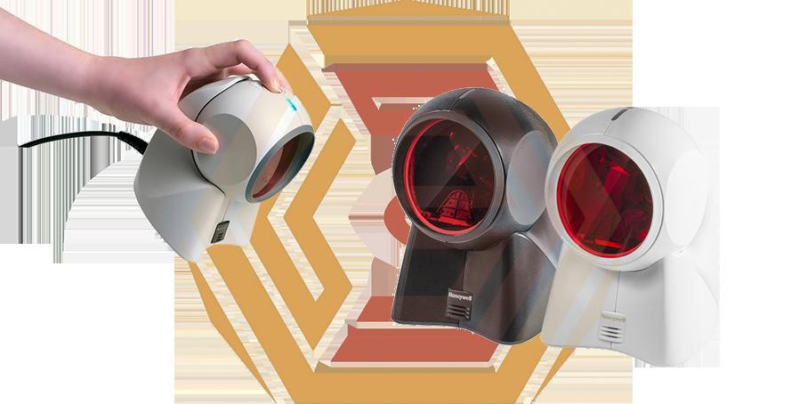 Комбинированные сканеры штрих кода легко переключаются из многолучевого режима в линеный. Сканеры не предусмотрены для потоковой работы, но удобны при торговле разногабаритным товаром.