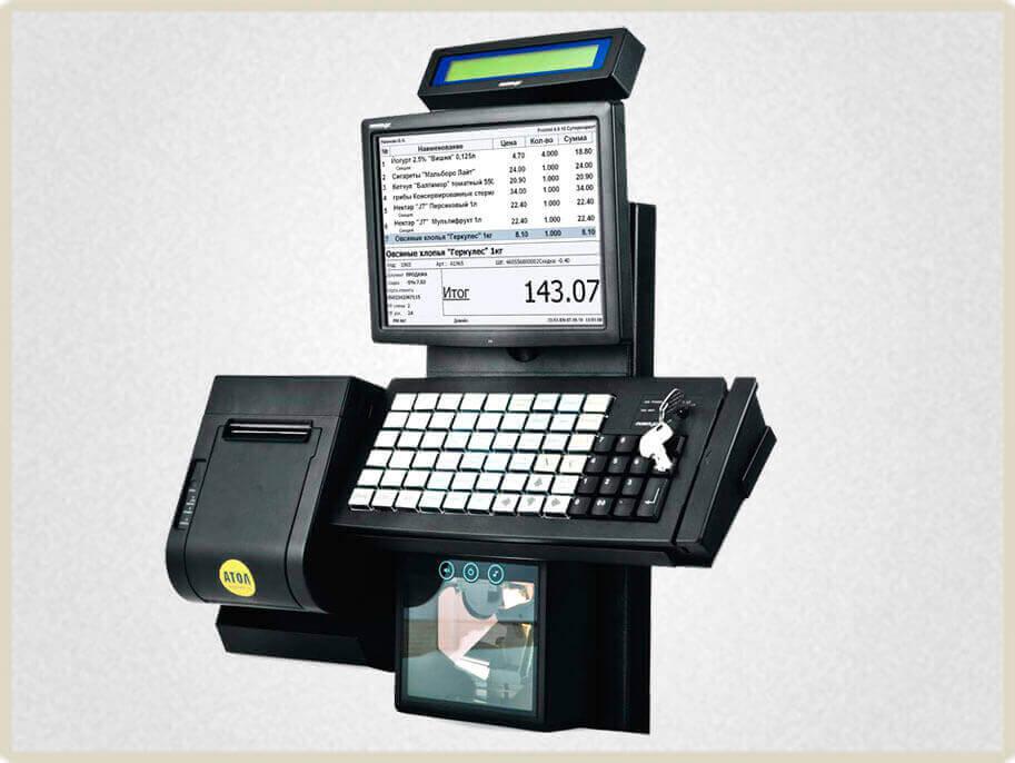 Фронтальные POS-терминалы Posiflex Retail - надежные помощники в автоматизации небольшого розничного магазина, торгующего продовольственной и непродовольственной продукцией.