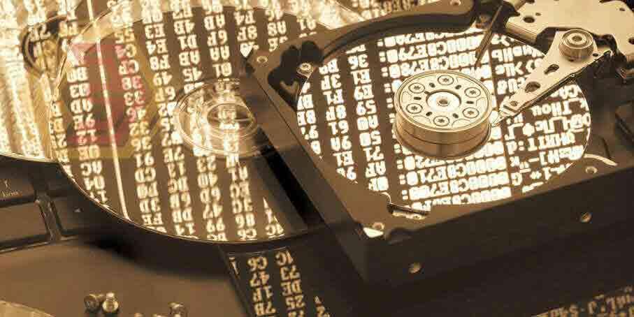 Защита информации. Жесткий диск с архивами, зашифрованный вирусом