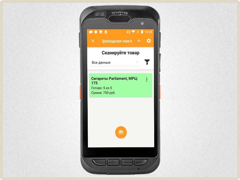 ТСД АТОЛ Smart touch подходит для крупных складов.