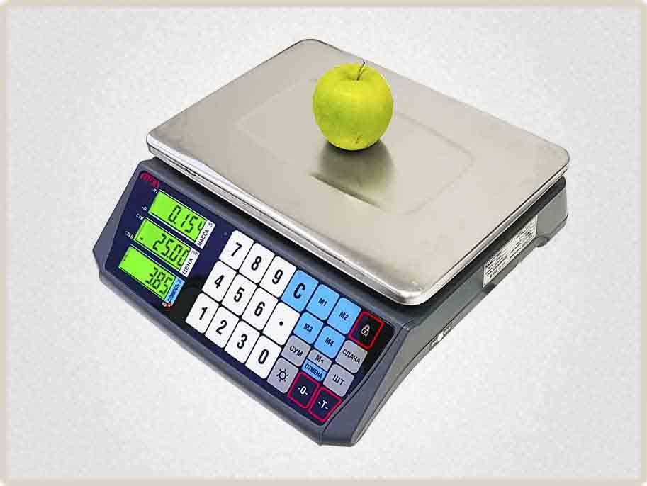 Весы Атол марта можно использовать на фасовке