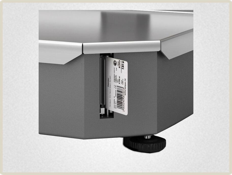 Весы с печатью этикеток для фасовки товара